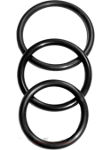 3 Cockrings en Nitrile Souple