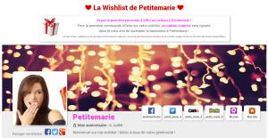 wishlist prete