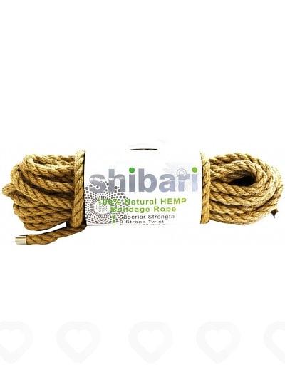 Corde de Bondage Shibari en Chanvre 10 Mètres