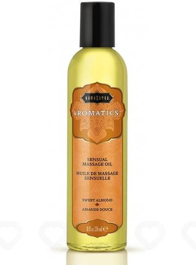 Huile de Massage Aromatique Kamasutra 236ml - Amande Douce