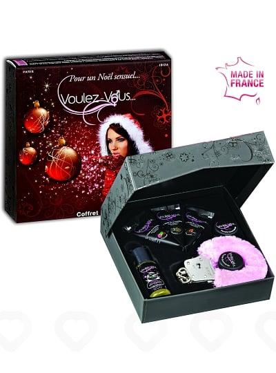 Coffret Noël avec Menottes Voulez-Vous...