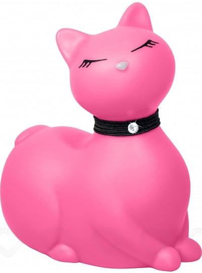 Chat Vibrant I Rub My Kitty - Rose