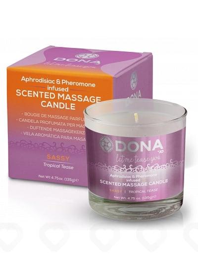Bougie de Massage Parfumée Dona - Sassy / Passion tropicale