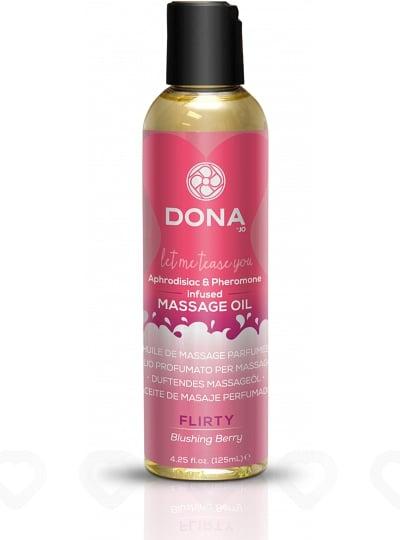 Huile de Massage Parfumée Dona - Flirty / Fruits des bois