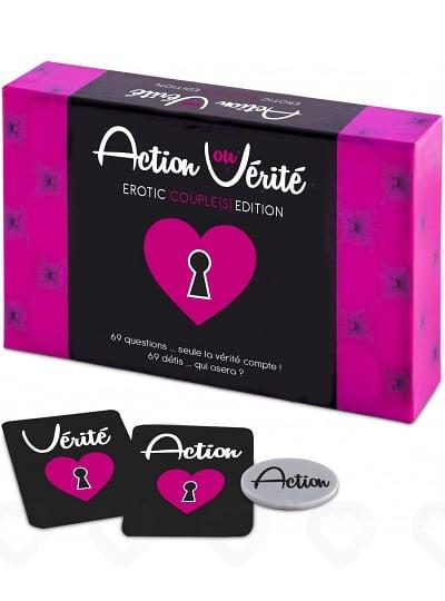 Jeu Action ou Vérité Erotic Couple(s) Edition