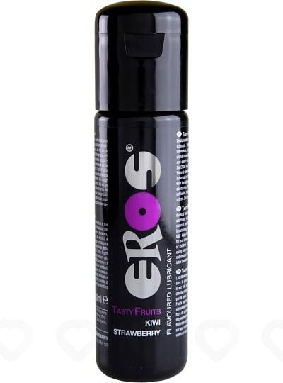 Lubrifiant Parfumé Eros Tasty Fruits 100 ml - Fraise / Kiwi
