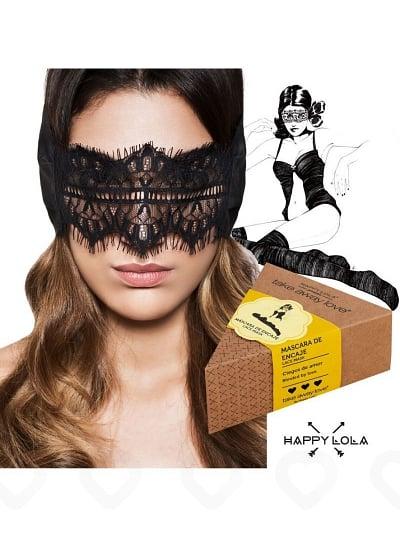 Masque en Dentelle Noire Take Away Love