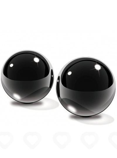 boules de geisha en verre noir sans fil small pipedream. Black Bedroom Furniture Sets. Home Design Ideas