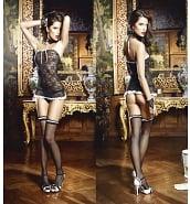 Costumes Sexy Costume de Femme de Chambre 3 Pièces
