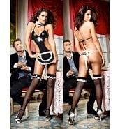 Costumes Sexy Costume de Femme de Chambre French Maid