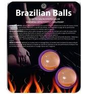 Huiles de Massage Pack de 2 Boules de Massage Brésiliennes Effet Chauffant