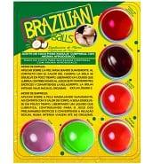Huiles de Massage Pack Découverte 6 Boules Brésiliennes Aromatisées
