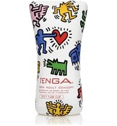 Masturbateur - Sextoy pour Homme Tenga x Keith Haring Soft Tube Cup