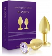 Coffrets de Sextoys Coffret Sexy Booty Plug Luxury Gold