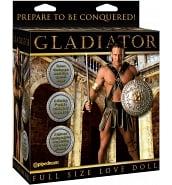 Poupée Gonflable Vibrante Homme Gladiator