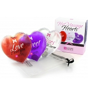 Huiles de Massage Coffret 3 Coeurs de Massage Hot Massage Hearts