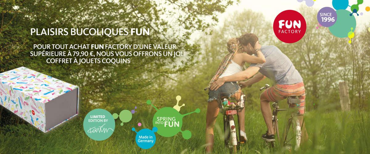 Fun Factory : une Toy Box offerte dès 99€ d'achats de la marque !