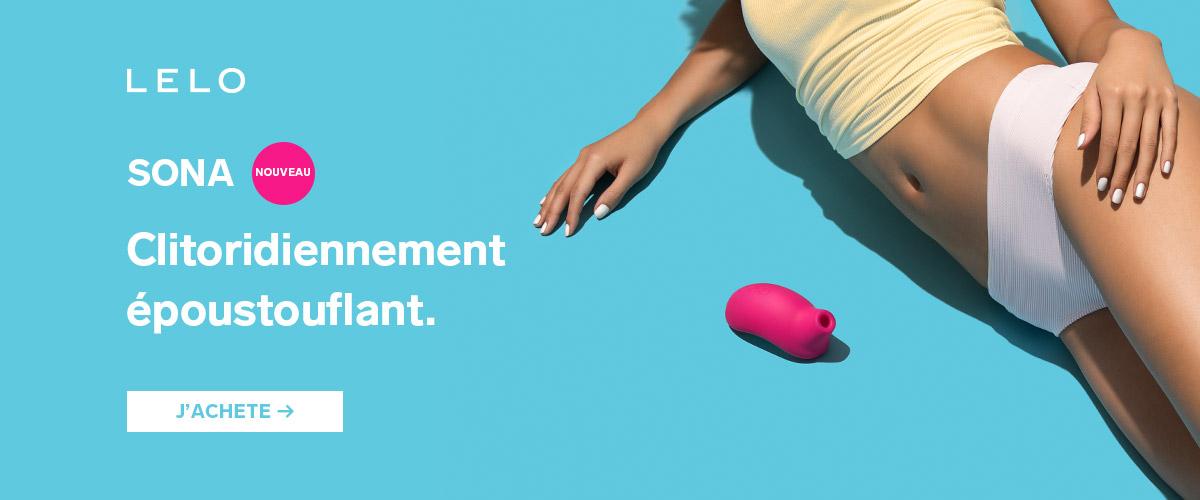 LELO Sona : clitoridiennement époustouflant !