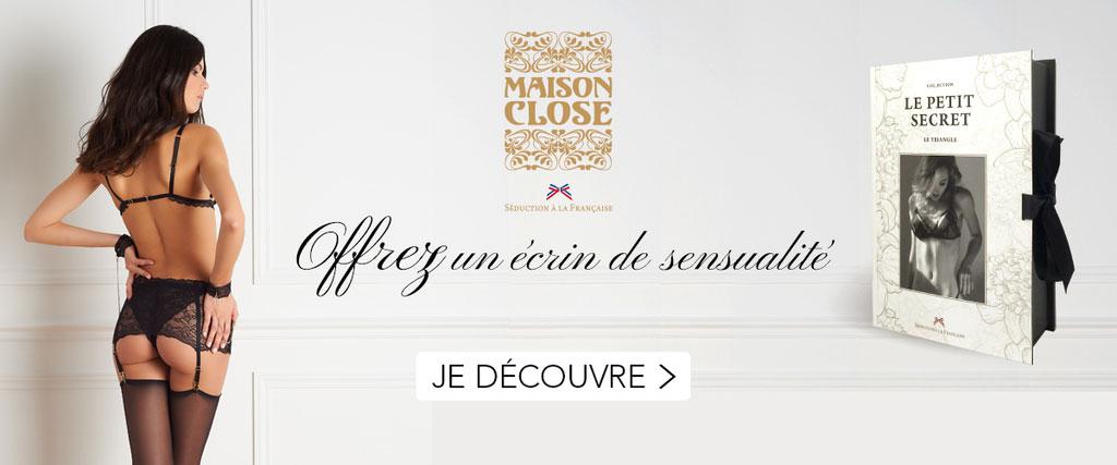 Maison Close : Offrez un écran de sensualité !