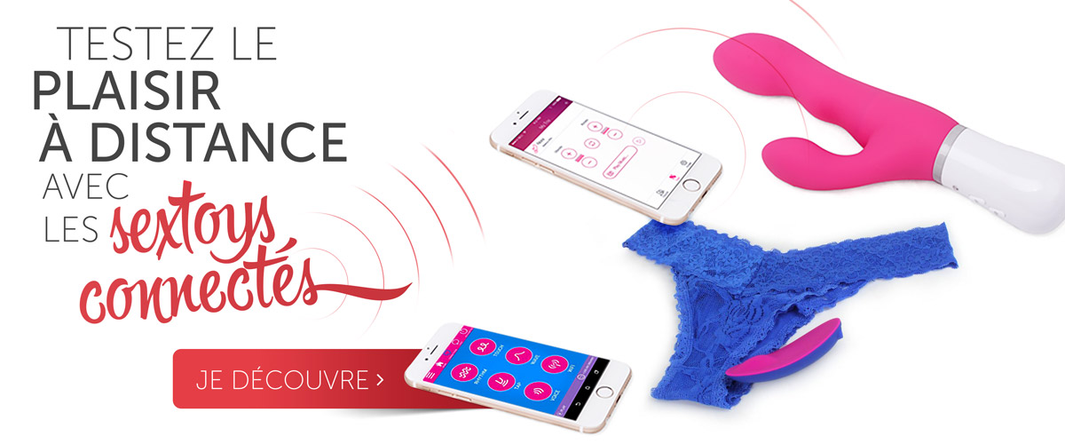 Sextoys connectés : le plaisir high-tech !